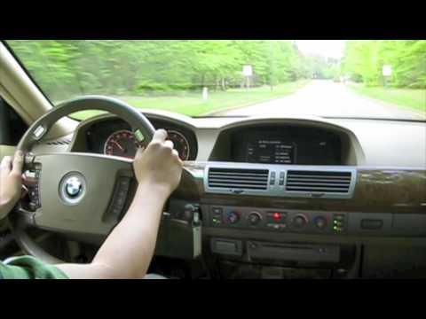 Test Drive the 2002 BMW 745Li (Acceleration, Highway, and City Driving)